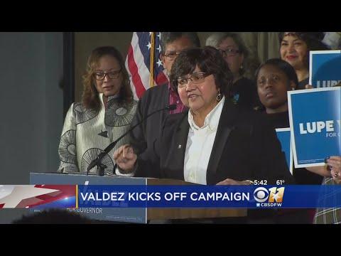 Lupe Valdez Kicks Off Gubernatorial Campaign In Dallas