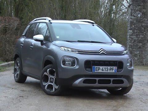 Essai Citroën C3 Aircross 1.2 PureTech 110 EAT6 Shine (2018)