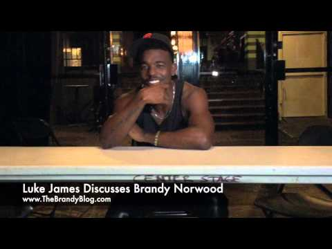 Luke James Discusses Brandy Norwood