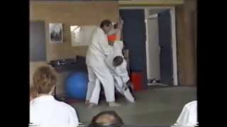 Jan Kallenbach with Hanjo - Taikiken seminar 1994