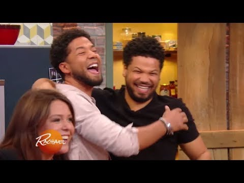 Jussie Smollett's Reaction to His BIG InStudio Surprise Will Make You Smile  Rachael Ray