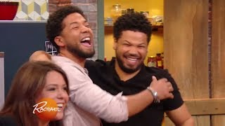 Jussie Smollett's Reaction to His BIG In-Studio Surprise Will Make You Smile | Rachael Ray Show