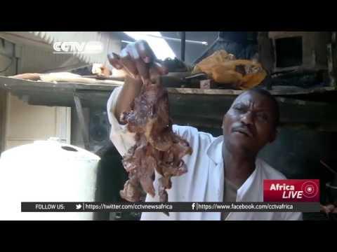 23917 economics cuisine CCTV Afrique Nairobi street food vendors doing brisk business amid rising li