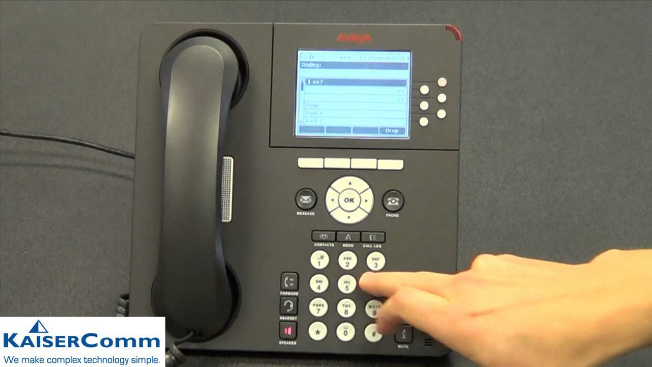 Meet-Me Conferencing with Avaya IP Office