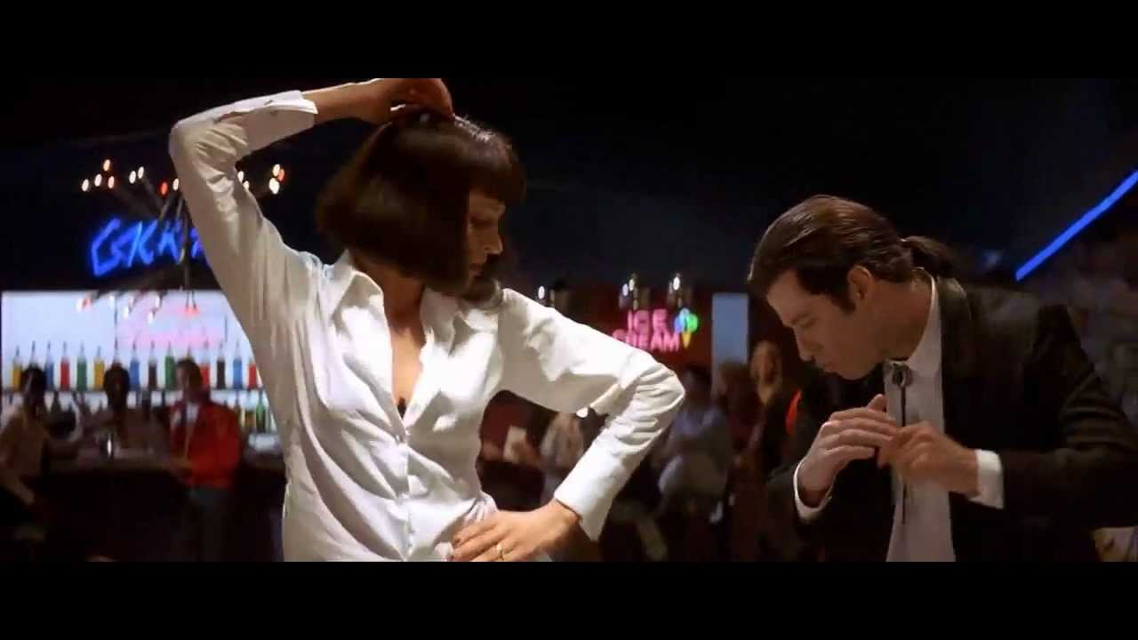 Pulp Fiction - Dance Scene (HQ)