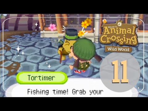 Let's Play Animal Crossing: Wild World 11 - Gone Fishing