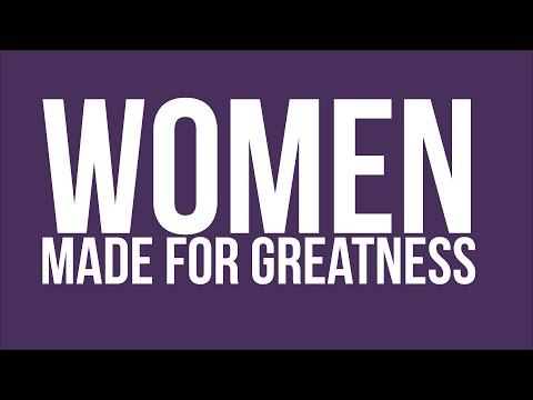 DCC Lecture Series | Sisters of Life - Women: Made for Greatness
