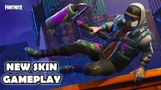 Fortnite Season 6 New Abstract Skin! (1440p Ultra - 60FPS)