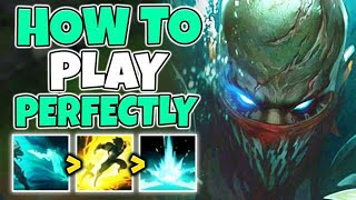 HOW TO PLAY PYKE PERFECTLY IN SEASON 10! RANK 1 PYKE GAMEPLAY - League of Legends