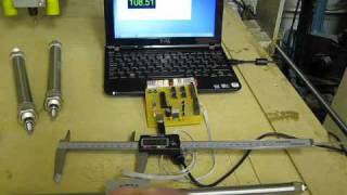 CLaNZeR Looking At Pneumatic Positioning Using A Caliper Part 1