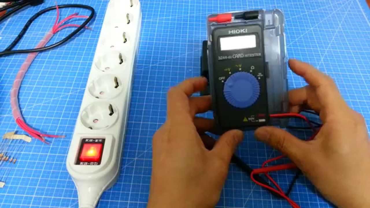 Digital Multi Tester HIOKI