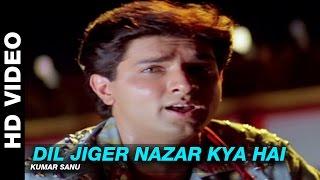 Dil Jiger Nazar Kiya Hai - Dil Ka Kya Kasoor | Kumar Sanu | Prithvi & Divya Bharti