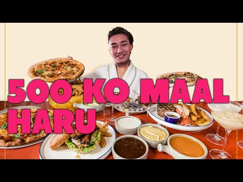 RS 500 FOOD HUNT AT BOUDHA KATHMANDU !!!  DORAEMON VLOGS EPI 3