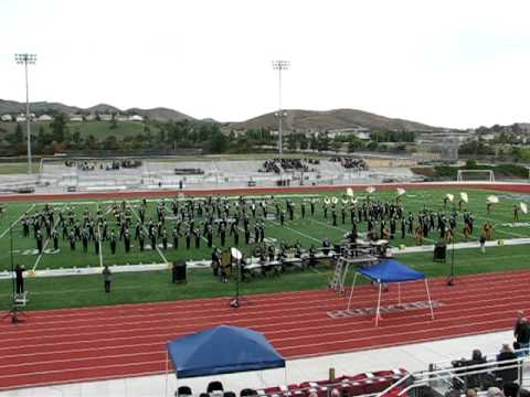 Green Valley High School Marching Band  11-12-2011