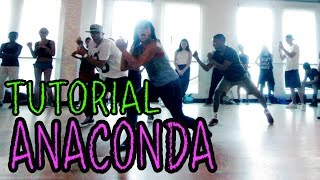 ANACONDA - Nicki Minaj Dance TUTORIAL | @MattSteffanina Choreography (How To Dance)