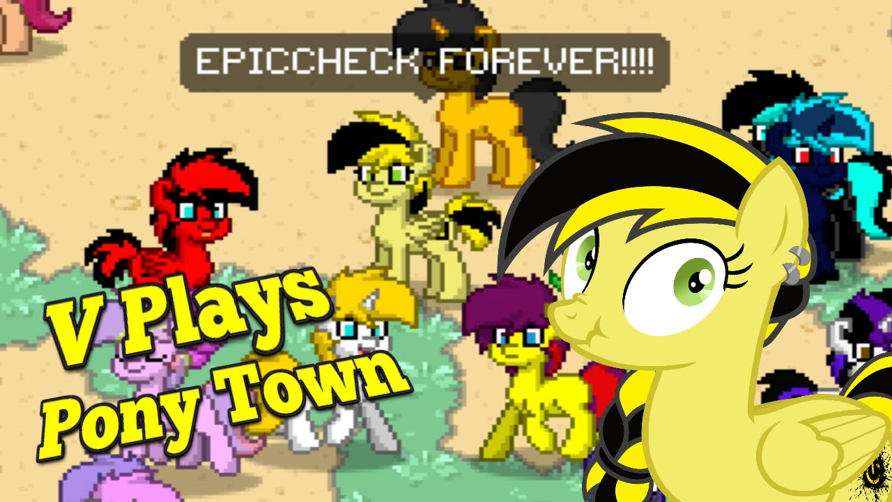 Gaming Is Magic V Plays Pony Town Youtube