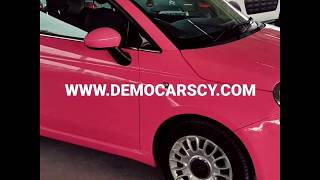 Fiat 500 Pink Edition, 2013