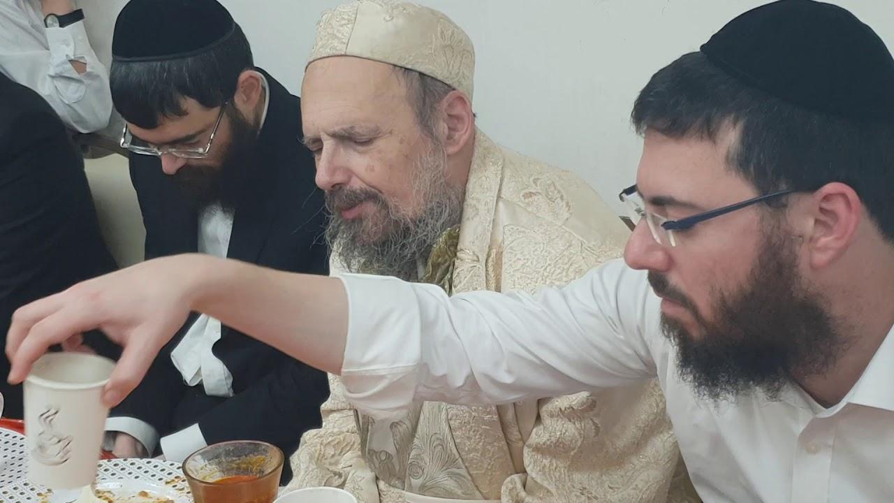 """דברי תורה בסיום סעודה שלישית פרשת יתרו תשע""""ט - הרב דב קוק"""