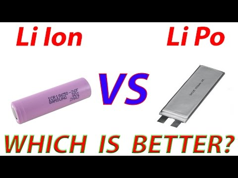 Advantages of Lithium Ion vs. Lithium Polymer Batteries