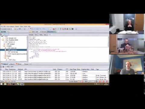 OWASP ZAP Video 2 - ZAP UI and Spidering