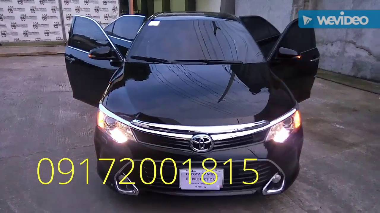 all new toyota camry philippines grand avanza 2018 armoured bulletproof 2016 youtube