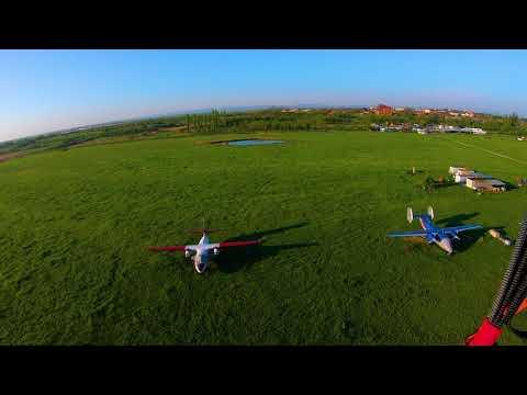 Аэродром Энем, паралёт, учебно - тренировочные полеты.
