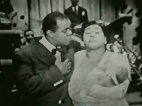 Louis Armstrong + Velma Middleton 1950 TV Cavalcade Of Bands: That´s My Desire