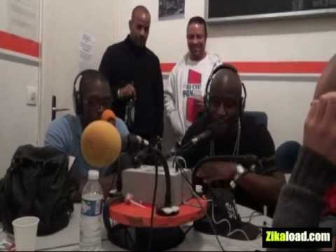 "Le NC en interview et freestyle à la radio ""F.P.P""  Fréquence Paris Pluriel"
