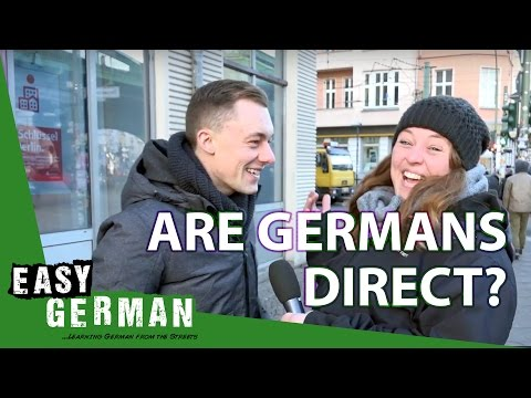 Are Germans direct? | Easy German 173