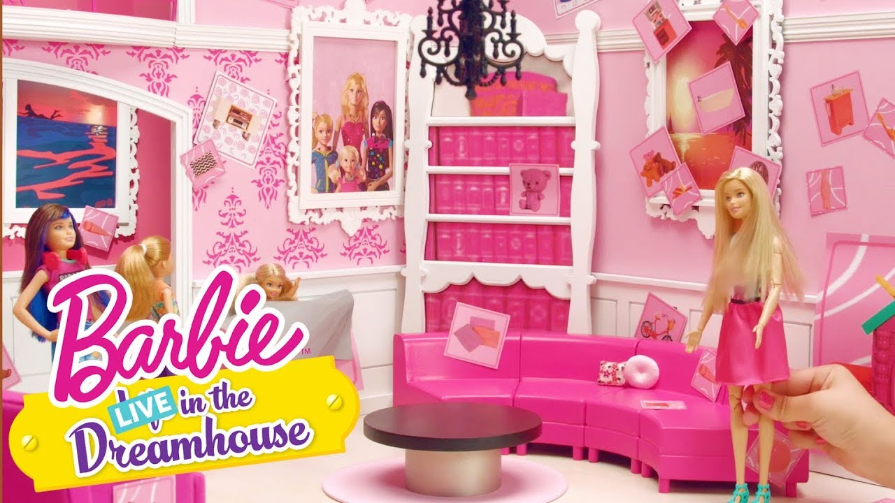 Sticker It Up Barbie Live In The Dreamhouse Barbie