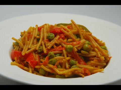 Spaghetti Vegetable Paella | Cooksmart | Sanjeev Kapoor Khazana