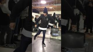 Larry Bourgeois dancing to Tko (Black Friday Remix) by Justin Timbe...