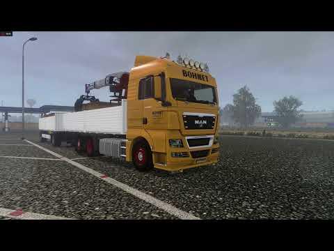 MAN TGX BDF - Euro Truck Simulator 2 v1.28 - Promods 2.20 - Bratislava(SK) - Ostrava(CZ)