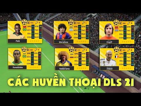 tai phien ban hack dream league soccer - Các huyền thoại xuất hiện trong Dream League Soccer 2021 | Legendary in DLS 21