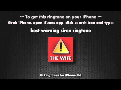 Warning it's the wife (iPhone Ringtone)