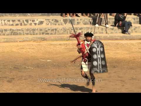 Ao Naga tribal dance