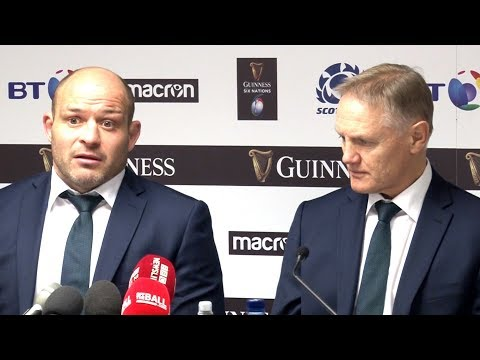 Scotland v Ireland - Joe Schmidt & Rory Best Full Post Match Press Conference - Six Nations 2019