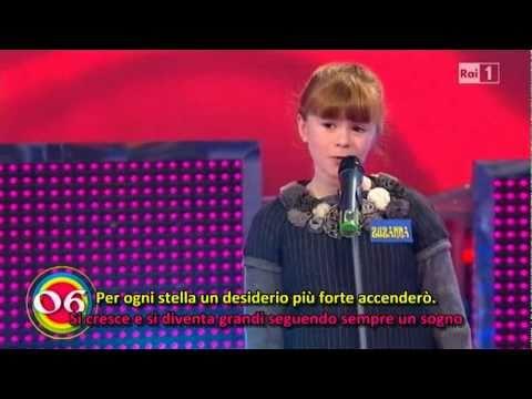 Lo Zecchino d'Oro 2010 - 06 - Un sogno nel cielo - HQ con sottotitoli