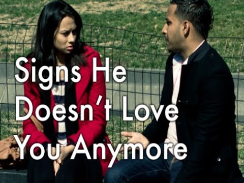 signs that hes not interested in the relationship anymore