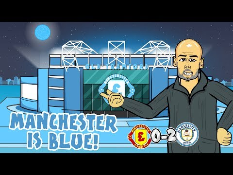 🔵0-2! Manchester is BLUE!🔵 Man Utd vs Man City 2019 (Parody Song Goals Highlights)