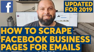 Scrape Emails From Facebook Business Pages With Scrapebox: Updated Method For 2019