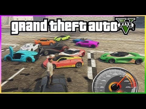 GTA 5 [PC] // EN HIZLI ARABA 2