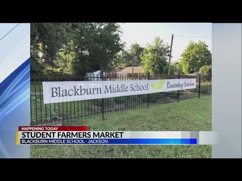 Veggies for Sale at Blackburn Middle School