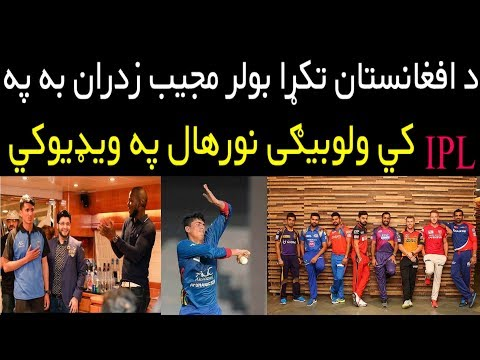 Afghan Cricketer Mujib will Include in IPL Draft 2018 | Mujib Zadran Might Play In IPL and PSL 2018