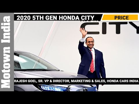 Views of Rajesh Goel of Honda Cars India on 5th Gen Honda City | Motown India