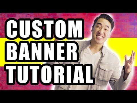 How To Make Awesome Channel Art + 50 FREE YouTube Banner Templates!
