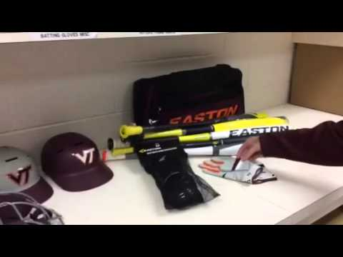 Virginia Tech Equipment Room Easton Baseball