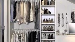 Flexible Clothing Storage - IKEA Home Tour