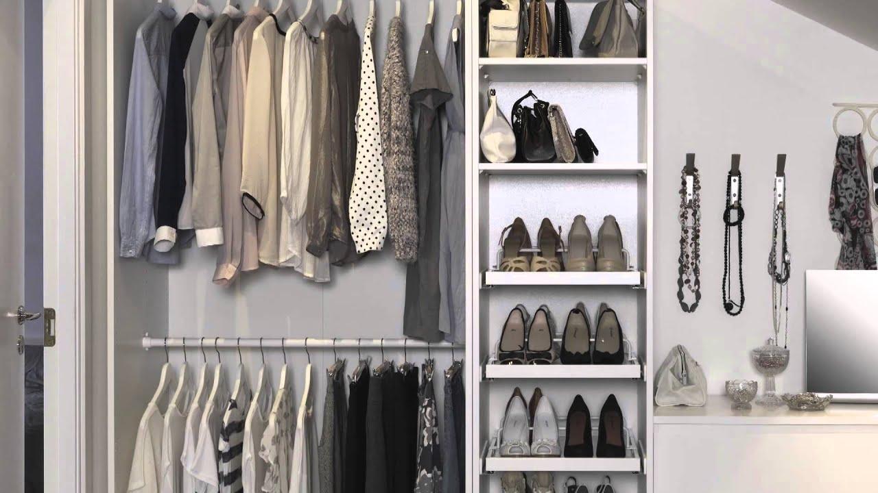 Flexible Clothing Storage  IKEA Home Tour  YouTube