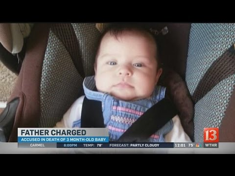 Father charged in baby's death: Noon report